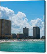 Florida Beach Panama City Canvas Print