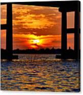 Florida Before Sunset  Canvas Print