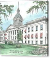 Florida Capitol 1902 Canvas Print