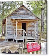 Florida Cracker Church And School House Canvas Print