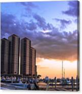 Florida Highrise Canvas Print
