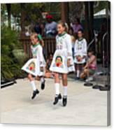 Florida Irish Dancers Canvas Print