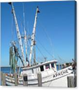 Florida Shrimper Canvas Print