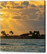 Florida Sunset-3 Canvas Print