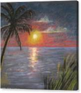 Florida Sunset Canvas Print