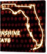 Florida - The Sunshine State Canvas Print