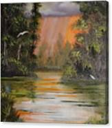 Florida Thunderstorm Canvas Print