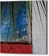 Florida Window Canvas Print
