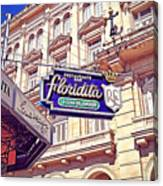 Floridita - Havana Cuba Canvas Print