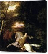 Florimell Flight Canvas Print