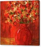 Florists Red Canvas Print