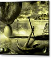 Flotsam And Jetsam Canvas Print