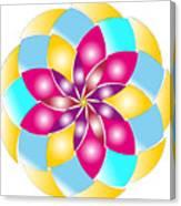 Flower 1317 - Abstract Art Print - Fantasy - Digital Art - Fine Art Print - Flower Print Canvas Print