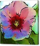 Flower 8-15-09 Canvas Print