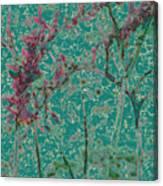 Flower Arches Canvas Print