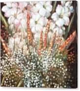 Flower Arrangment Canvas Print