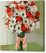 Flower Bouquet Creations Catus 1 No. 1 Canvas Print