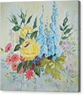 Flower Bouquet Canvas Print