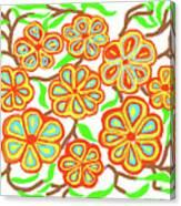 Flower Carnival Canvas Print