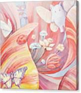 Flower City Canvas Print