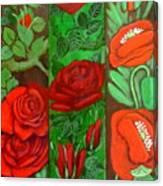 Flower Composition 4 Canvas Print