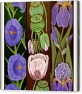 Flower Composition 5 Canvas Print