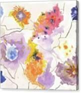 Flower Connection Canvas Print