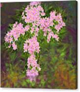 Flower Cross Fancy Canvas Print