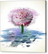 Flower Digital Art Canvas Print