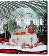 Flower Dome 2 Canvas Print