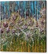 Flower Energy Canvas Print