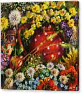 Flower Extravaganza Canvas Print