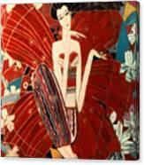 Flower Fairy Canvas Print