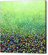 Flower Field Riot Canvas Print