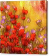 Flower Fields Of Summer Canvas Print