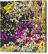 Flower Flood Canvas Print
