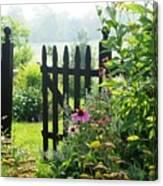 Flower Gate Canvas Print