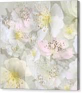 Flower Girls Path Canvas Print