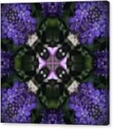 Flower Kaleidoscope_004 Canvas Print