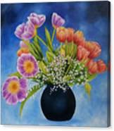 Flower Still Life Canvas Print