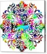Flower Mandala 4 Canvas Print