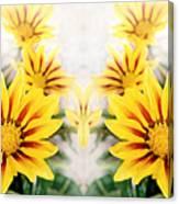 Flower Montage Canvas Print