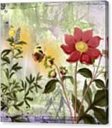 Flower-n Canvas Print