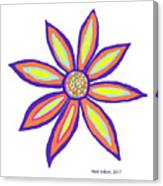 Flower Of Joy Canvas Print