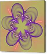 Flower Of Pink - Purple Canvas Print