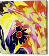 Flower On The Beach Canvas Print