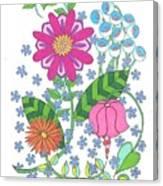 Flower Power 3 Canvas Print