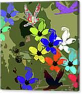 Flower Power 48 Canvas Print