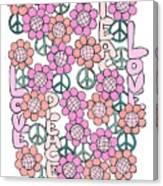 Flower Power 8 Canvas Print