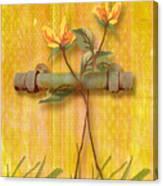Flower Pull Canvas Print